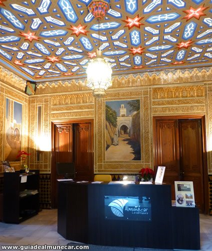 Turismo en Almuñécar interior del Palacete La Najarra
