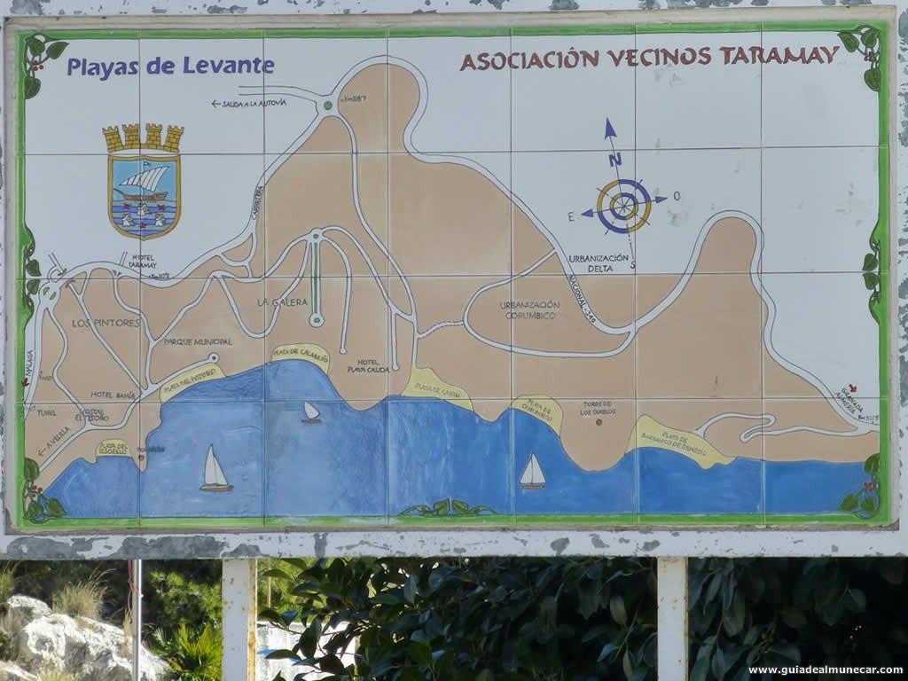 Mapa Tesorillo-Taramay formato 1024x768 pixeles