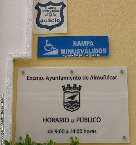 Horarios del Edificio del Ayuntamiento de Almuñécar