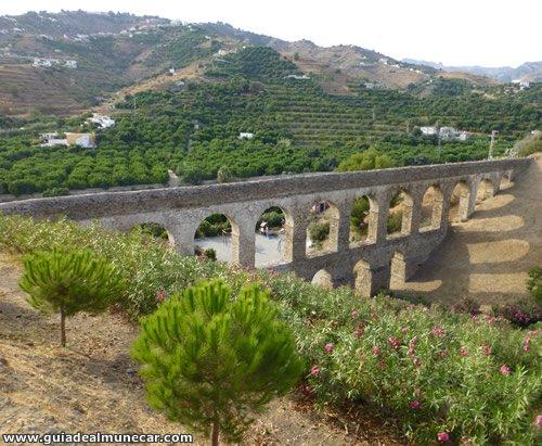 Acueducto Romano en Almuñécar Costa Tropical Granada
