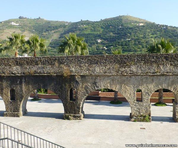 Acueducto Romano, Tramo Torrecuevas, Almuñécar.
