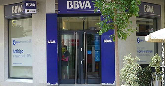 Banco bbva gu a de almu car for Oficina bbva malaga