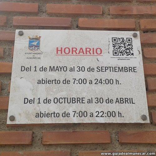Días y Horas visitas al Peñón del Santo, Almuñécar