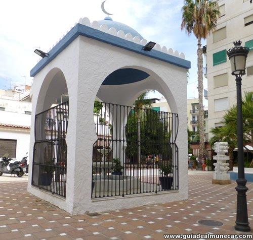 Monumento en la Plaza Damasco