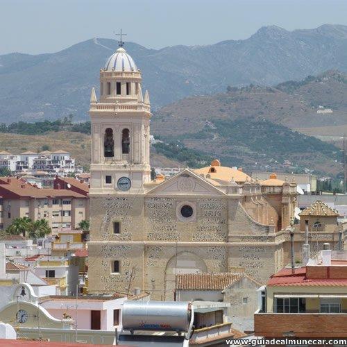 Iglesia en el casco histórico de Almuñécar