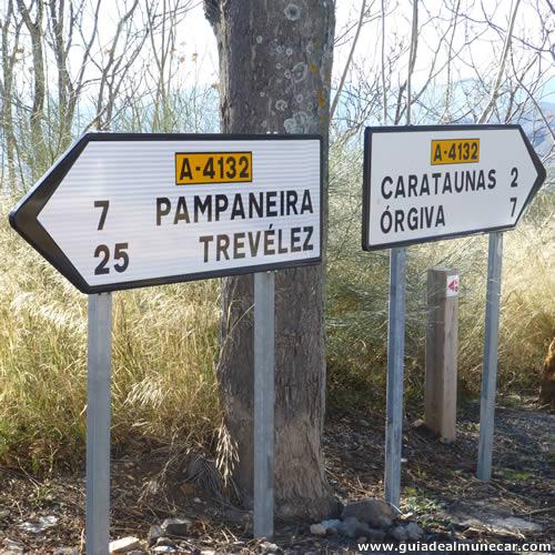 Cartel Pueblos Blancos de La Alpujarra Granadina