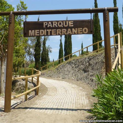 Parque Mediterráneo, Entrada desde Playa Pozuelo
