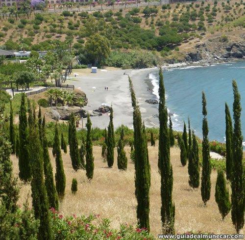 Parque Mediterráneo, Vegetación, vistas y playas en Almuñécar