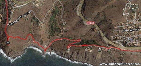 Ruta de Senderismo ingresando a Almuñécar, Alfamar y Barranco de Enmedio