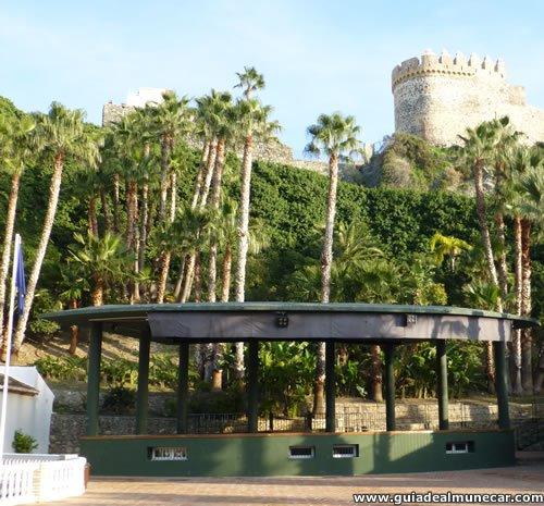 Escenario Parque del Majuelo Botánico y Castillo de San Miguel. Almuñécar