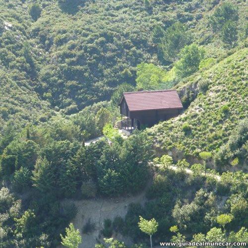 Cabaña en el Parque de la Naturaleza Peña Escrita, Almuñécar