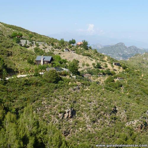 Montañas en el Parque de la Naturaleza Peña Escrita, Almuñécar