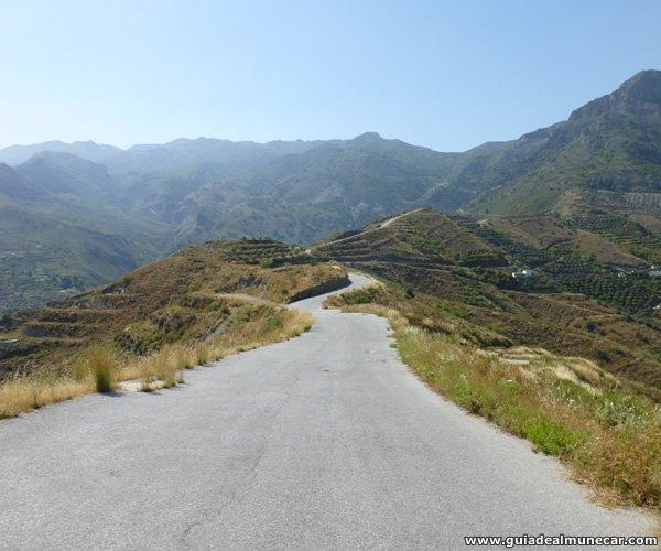 Camino de Montañas al Parque de la Naturaleza Peña Escrita, Almuñécar