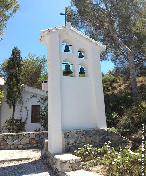 La Ermita Campanario del Templo.