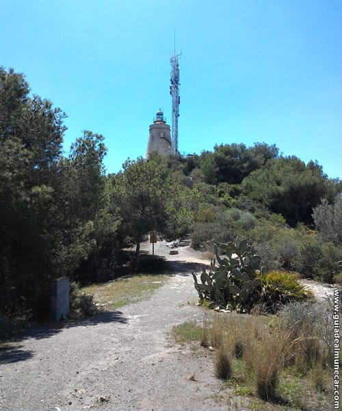 La Ermita y El Faro de la Punta de la Mona.