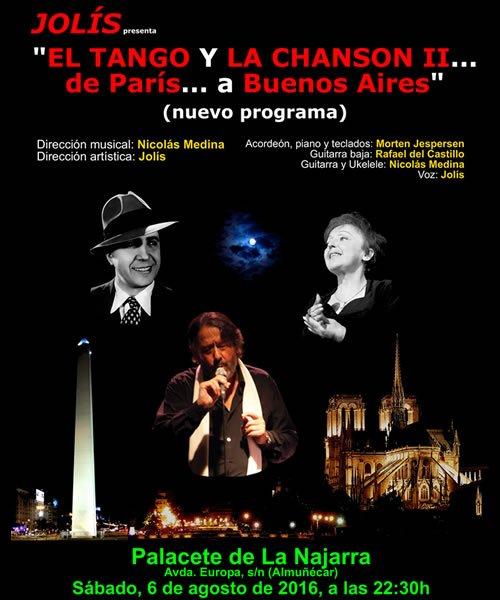 Jolís. El Tango y La Chanson II. De París a Buenos Aires.