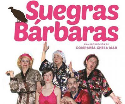 Obra de Teatro Suegras Bárbaras